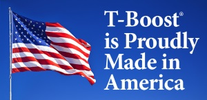 T-Boost is proudly made in America