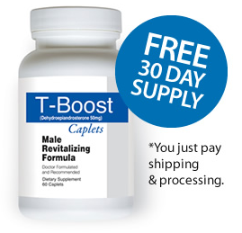 Free 30 day supply. * You just pay shipping & handling.